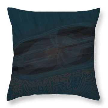 Peacock Lounge Throw Pillow