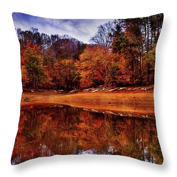Throw Pillow featuring the photograph Peak? Nope, Not Yet by Edward Kreis