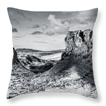 Peak Of Imagination Throw Pillow