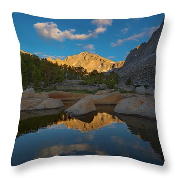Peaks And Valleys Throw Pillow