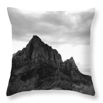 Peaks  Throw Pillow