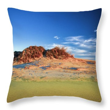 Peaks Of Jockey's Ridge Throw Pillow