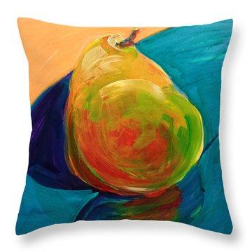 Pear 5.2 Throw Pillow