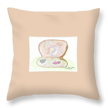 Pearl Baby Throw Pillow