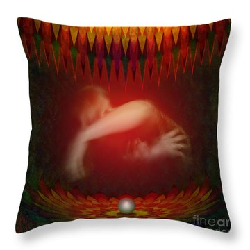 Pearl Of Love Throw Pillow