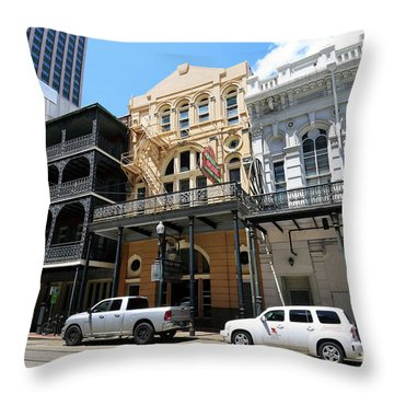 Throw Pillow featuring the photograph Pearl Oyster Bar by Steven Spak