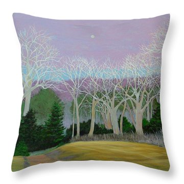 Pearlescence Throw Pillow