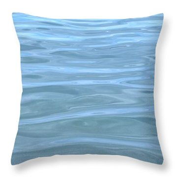 Pearlescent Tranquility Throw Pillow