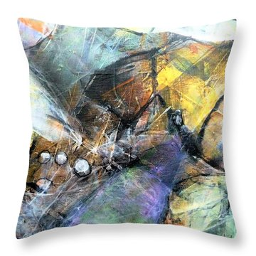Pearls Of Wisdom Throw Pillow