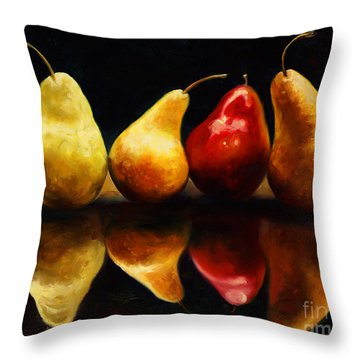 Pearsfect Throw Pillow
