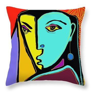 Peasant Throw Pillow