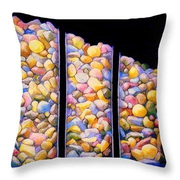 Pebble Dash Throw Pillow