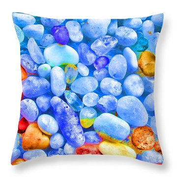 Pebble Delight Throw Pillow