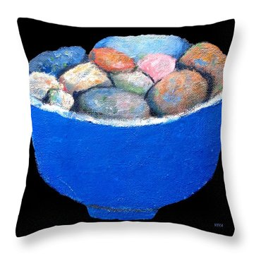 Pebbles Memories Throw Pillow