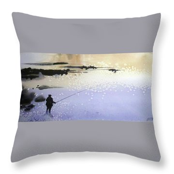 Peche Throw Pillow