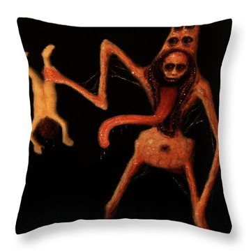 Violator Of Innocence - Artwork Throw Pillow