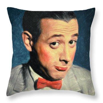 Pee-wee Herman Throw Pillow