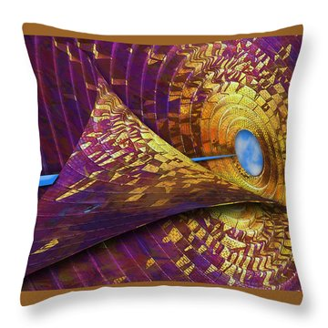 Throw Pillow featuring the photograph Peeling Back Time by Paul Wear