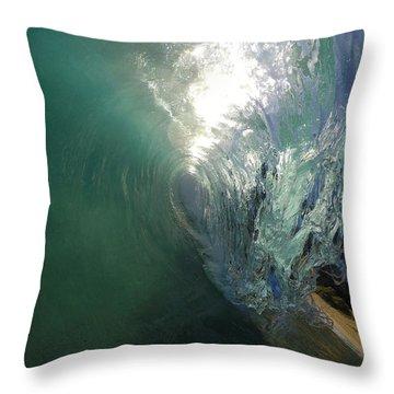 Peeling Light  Throw Pillow