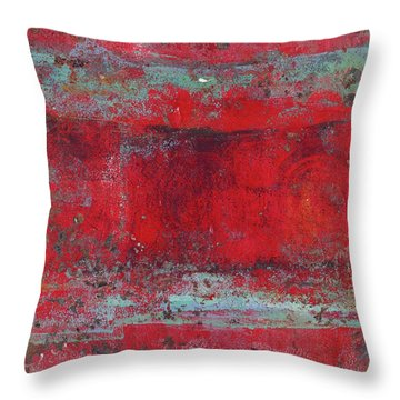 Peeling Wall Throw Pillow