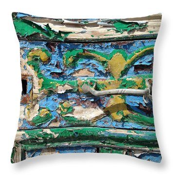 Throw Pillow featuring the photograph Peels Of Time by Olivier Calas