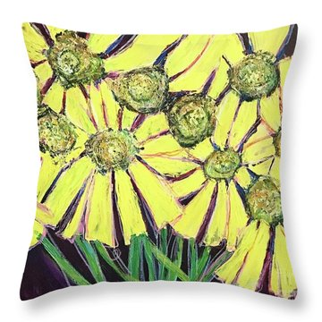 Peepers Peepers Throw Pillow
