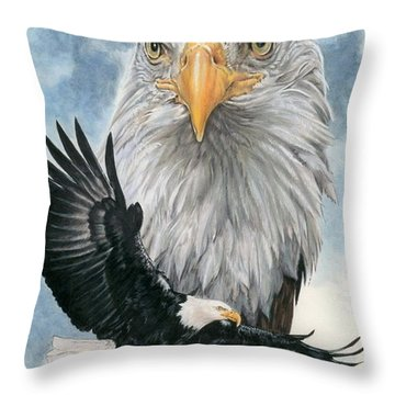 Peerless Throw Pillow