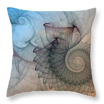Pefect Spiral Throw Pillow