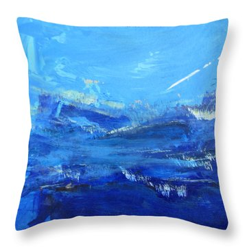 Peinture Abstraite Sans Titre 10 Throw Pillow