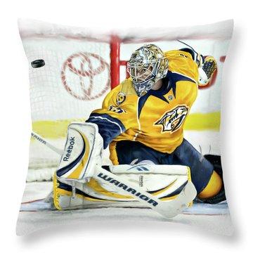 Pekka Rinne II Throw Pillow