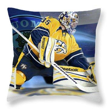 Peksi Throw Pillow