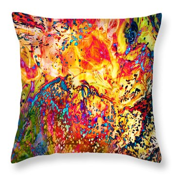 Pele Throw Pillow