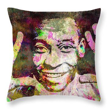 Pele Throw Pillow by Svelby Art