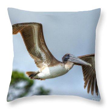 Pelican-4443 Throw Pillow