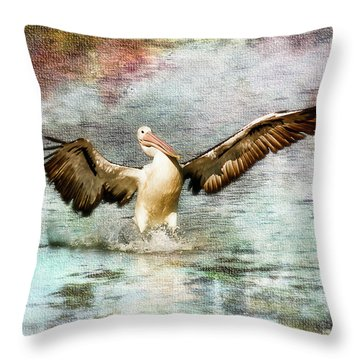 Pelican Art 00174 Throw Pillow