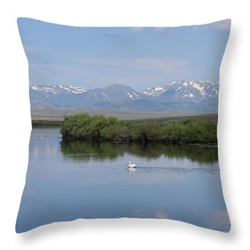 Pelicans Walden Res Walden Co Throw Pillow