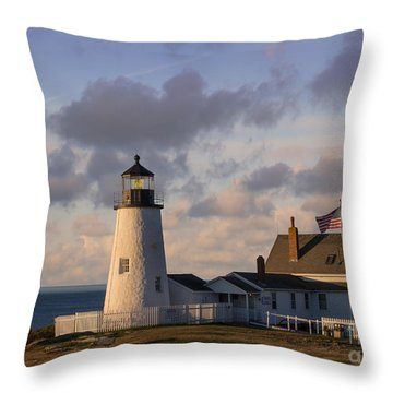 Pemaquid Morning Throw Pillow