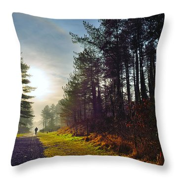 Pembrey Country Park 1 Throw Pillow