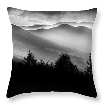 Throw Pillow featuring the photograph Pemigewasset Wilderness by Bill Wakeley