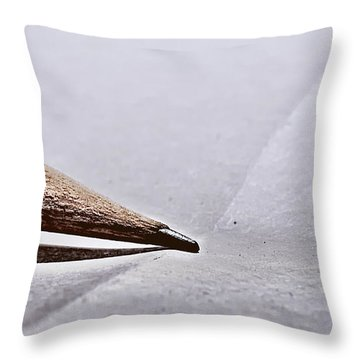 Pencil On Paper Throw Pillow