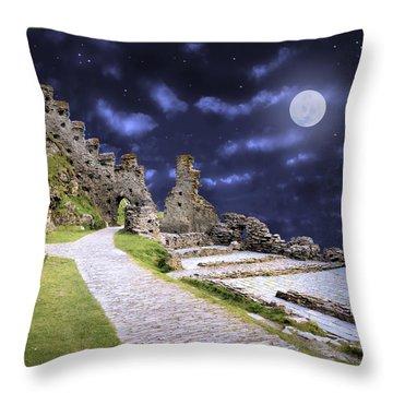 Pendragon Moon Throw Pillow
