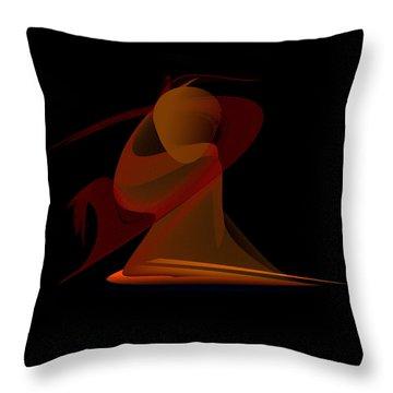 Penman Original-292-the Unknown Warrior. Throw Pillow