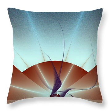 Penman Original-502 The Rising 2016 Throw Pillow by Andrew Penman