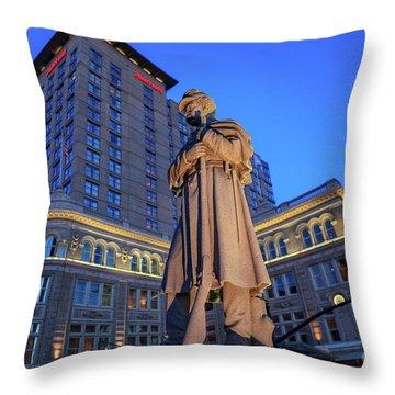 Penn Square Lancaster City Throw Pillow
