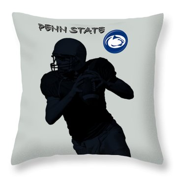 Penn State Football Throw Pillow