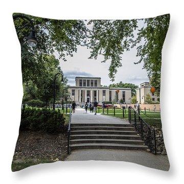 Penn State Library  Throw Pillow