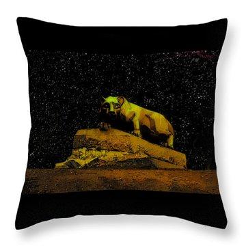 Penn State Stars Throw Pillow