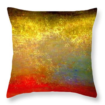 Pennies From Heaven Throw Pillow