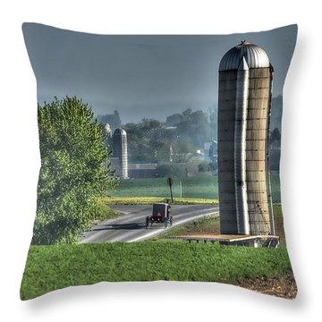 Pennsylvania - Amish Country  Throw Pillow