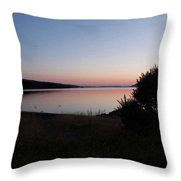 Pennyghael Sunset Throw Pillow